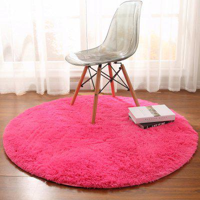 Round Rug Simple Solid Design  Multipurpose Floor MatCarpets &amp; Rugs<br>Round Rug Simple Solid Design  Multipurpose Floor Mat<br><br>Category: Mat,Carpet<br>For: All<br>Material: Silk, Others, Polyester fibre<br>Occasion: Office, Dining Room, Bedroom, Bathroom, Kitchen Room, Living Room<br>Package Contents: 1 x carpet<br>Package size (L x W x H): 30.00 x 30.00 x 8.00 cm / 11.81 x 11.81 x 3.15 inches<br>Package weight: 0.8000 kg