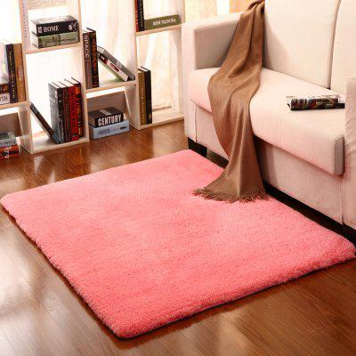 Buy PINK 80X120CM Bedside Floor Mat Solid Thicken Soft Cosy Door Mat. for $29.85 in GearBest store