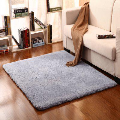 Buy Bathroom Mat Comfortable Solid Thick Antiskidding Doormat GRAY 140X200CM for $64.67 in GearBest store