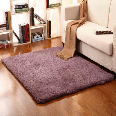 Buy Bedside Floor Mat Solid Thicken Soft Cosy Door Mat TARO PURPLE 80X120CM for $26.79 in GearBest store