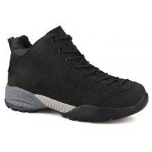 HUMTTO Hiking Shoes Men Winter Leather Sneakers Climbing Boots