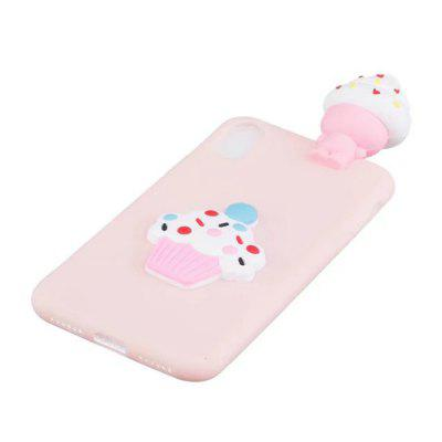 3D Cartoon Animals CuteIce cream Soft Silicone Case Skin For iPhone XiPhone Cases/Covers<br>3D Cartoon Animals CuteIce cream Soft Silicone Case Skin For iPhone X<br><br>Features: Back Cover<br>Material: Silicone<br>Package Contents: 1 x Phone Case<br>Package size (L x W x H): 15.00 x 7.00 x 2.00 cm / 5.91 x 2.76 x 0.79 inches<br>Package weight: 0.0250 kg<br>Product size (L x W x H): 14.00 x 6.80 x 1.30 cm / 5.51 x 2.68 x 0.51 inches<br>Product weight: 0.0200 kg<br>Style: Cartoon, Funny, Novelty, Ultra Slim