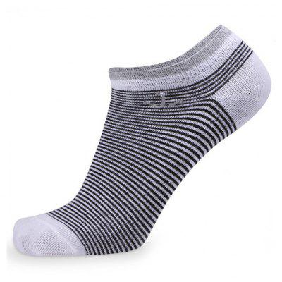 Buy COLORMIX Stripes Graphic Elastic Knit Socks N1665 5 Pairs for $19.39 in GearBest store