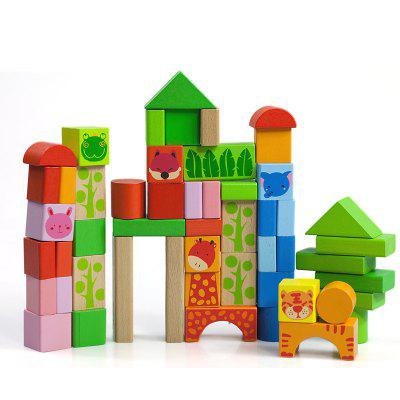 Wooden Puzzle Toy Suit for Forest Animal Q003