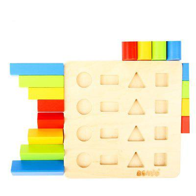 Staircase Comparative Blocks of Children'S Intelligence in Shape Classification BH2103