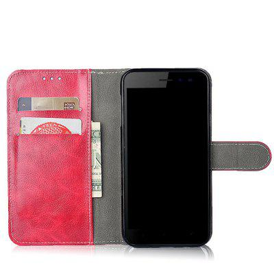 Case for Leagoo Kiicaa MIX Leather Flip Cover Protective Phone Bags Vintage Business Card Slots Wallet Stand Vintage