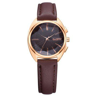 GAIETY G444 Women's Fashion Leather Watch