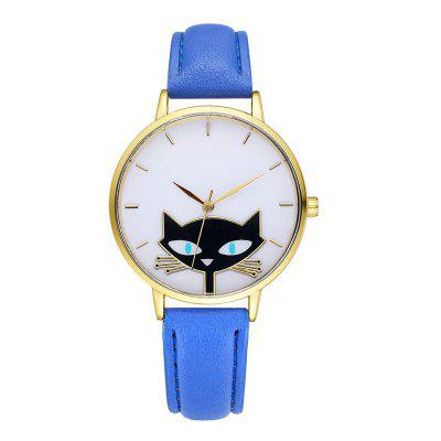 GAIETY G067 ladies leather fashion watch