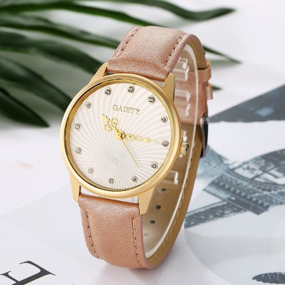 GAIETY G046 Ladies Fashion Quartz WatchWomens Watches<br>GAIETY G046 Ladies Fashion Quartz Watch<br><br>Band material: Alloys<br>Band size: 24x2 cm<br>Case material: Alloy<br>Clasp type: Pin buckle<br>Dial size: 3.8x3.8x0.7 cm<br>Display type: Analog<br>Movement type: Quartz watch<br>Package Contents: 1 x Watch<br>Package size (L x W x H): 25.00 x 4.50 x 1.00 cm / 9.84 x 1.77 x 0.39 inches<br>Package weight: 0.0350 kg<br>Product size (L x W x H): 24.00 x 3.80 x 0.70 cm / 9.45 x 1.5 x 0.28 inches<br>Product weight: 0.0320 kg<br>Shape of the dial: Trapezoidal<br>Watch mirror: Mineral glass<br>Watch style: Classic, Business, Fashion, Casual<br>Watches categories: Women,Female table<br>Water resistance: No