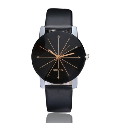 DUOYA XR1565-S Women Simple Leather Band Analog Quartz Wrist Watch для asus zenfone 3 deluxe zs550kl стекло экран протектор фильм для asus zenfone 3 deluxe zs550kl стекло экран протектор