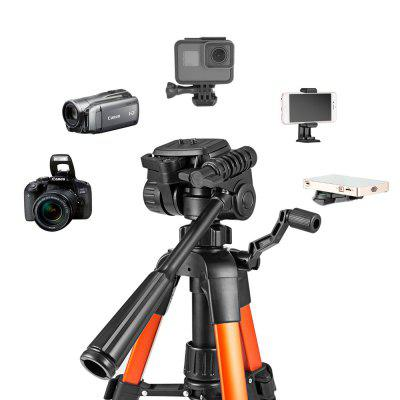 zakitane ZT22  Tripod  Tabletop Desktop Tripod with Pan Head Panoramic Quick Release Plate  Carrying Bag for DSLR CamerTripods<br>zakitane ZT22  Tripod  Tabletop Desktop Tripod with Pan Head Panoramic Quick Release Plate  Carrying Bag for DSLR Camer<br><br>Compatible with: DSLR, Telephoto Lens, Projector, Digital Camera, Mobile phone<br>Folded Length (cm): 30<br>Leg Sections: 3<br>Material: Aluminium Alloy<br>Max Height (cm): 56<br>Max Load (kg): 10-15kg<br>Minimum Height (cm): 31<br>Model: ZT22<br>Package Contents: 1 x zakitane ZT22 Tripod ,1 x Carry Bag, 1 x English User Manual? 1 x Japanese User Manual?1 xGerman User Manual?1 x Italy User Manual?1 x Spanish User Manual?1 x French User Manual<br>Package size (L x W x H): 30.00 x 10.50 x 10.50 cm / 11.81 x 4.13 x 4.13 inches<br>Package weight: 0.7620 kg<br>Production type: Tripod<br>Tripod Head Type: Three Way Head