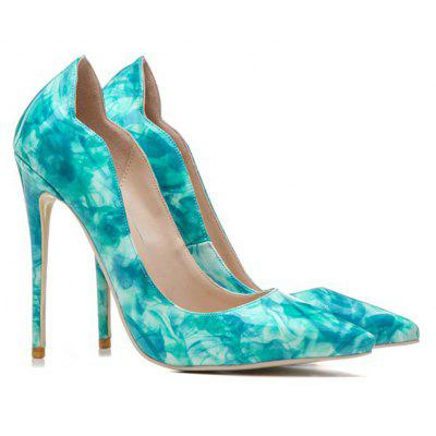 Spring Summer Fall Wedding Office  Career Party  Evening Patent Leather Heels