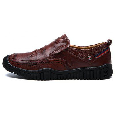 New Fashion Winter Casual Moccasins Luxury Genuine Leather Slip On ShoesCasual Shoes<br>New Fashion Winter Casual Moccasins Luxury Genuine Leather Slip On Shoes<br><br>Available Size: 38,39,40,41,42,43,44<br>Closure Type: Slip-On<br>Embellishment: Ruched<br>Gender: For Men<br>Outsole Material: Rubber<br>Package Contents: 1 x Shoes(pair)<br>Pattern Type: Solid<br>Season: Summer, Winter, Spring/Fall<br>Toe Shape: Round Toe<br>Toe Style: Closed Toe<br>Upper Material: Genuine Leather<br>Weight: 1.6400kg