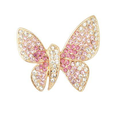 Crystal Butterfly Fashion Brooches Brouches Bisutería
