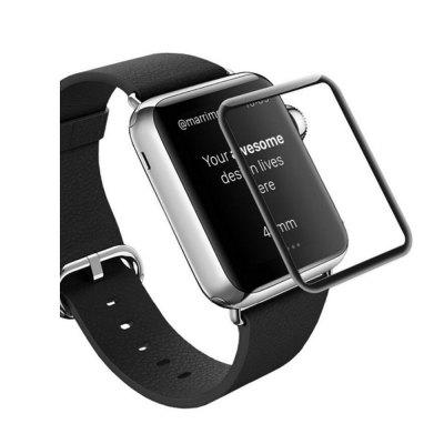 3D Curved Edge Tempered Glass Full Cover  Screen Protector Film For Apple Watch 38mm
