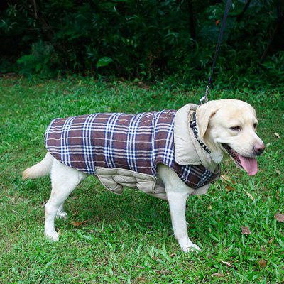 Lovoyager PD10005 Two Sides of Pet Clothing Can Be Used in The Dogs Autumn and Winter Jacket
