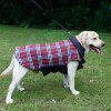 Lovoyager PD10005 Two Sides of Pet Clothing Can Be Used in The Dogs Autumn and Winter Jacket - RED