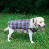 Lovoyager PD10005 Two Sides of Pet Clothing Can Be Used in The Dogs Autumn and Winter Jacket - BROWN