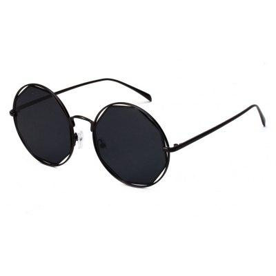 Double Circle Round Vintage Sunglasses for Women to Dazzle and Shine on The New Glasses