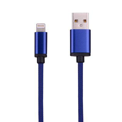 High Elastic Wire  8 Pin Data Charging Cable 100CMiPhone Cables &amp; Adapters<br>High Elastic Wire  8 Pin Data Charging Cable 100CM<br><br>Cable Length (cm): 100<br>Interface Type: 8 pin<br>Mainly Compatible with: iPhone 5, iPhone 7 Plus, iPhone 7, iPhone SE, iPad Air (iPad 5), iPhone 6S Plus, iPhone 5S, iPhone 5C, iPhone 6S, iPhone 6 Plus, iPhone 6, iPod, Ipad Mini, Ipad 4, Ipad 2, The New Ipad<br>Package Contents: 1 x Phone Cable<br>Package size (L x W x H): 20.00 x 15.00 x 1.00 cm / 7.87 x 5.91 x 0.39 inches<br>Package weight: 0.0350 kg<br>Type: Cable