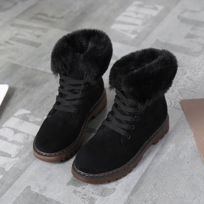 Winter Warm Cashmere Fabric Rubber Wear-Resistant Sole Comfortable Leisure ShoesWomens Boots<br>Winter Warm Cashmere Fabric Rubber Wear-Resistant Sole Comfortable Leisure Shoes<br><br>Boot Height: Ankle<br>Boot Type: Riding/Equestrian<br>Closure Type: Lace-Up<br>Gender: For Women<br>Heel Type: Others<br>Package Contents: 1x Shoes(pair)<br>Pattern Type: Solid<br>Season: Winter<br>Toe Shape: Round Toe<br>Upper Material: Flock<br>Weight: 1.2800kg