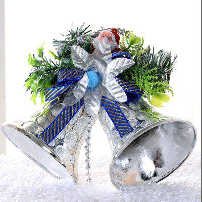 Christmas Decorations  Double Bells Ornaments Children Gifts