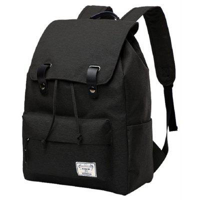 Canvas Student Bag 14 Inch Laptop Backpack