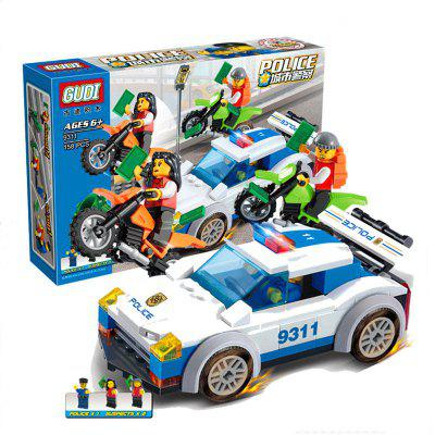 9311 Kids Adult Educational Toy Building Bricks Police Series Blocks Assembled Gift