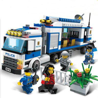 9316 Kids Adult Educational Toy Building Bricks Police Series Blocks Assembled Gift