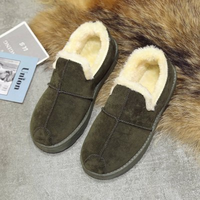 Lady Casual Trend for Fashion Warm Winter Suede Flat ShoesWomens Flats<br>Lady Casual Trend for Fashion Warm Winter Suede Flat Shoes<br><br>Available Size: 36-40<br>Closure Type: Slip-On<br>Flat Type: Mary Janes<br>Gender: For Women<br>Occasion: Casual<br>Package Contents: 1 x shoes pair<br>Package size (L x W x H): 30.00 x 20.00 x 10.00 cm / 11.81 x 7.87 x 3.94 inches<br>Package weight: 0.5000 kg<br>Pattern Type: Solid<br>Season: Winter<br>Toe Shape: Round Toe<br>Toe Style: Closed Toe<br>Upper Material: Cloth