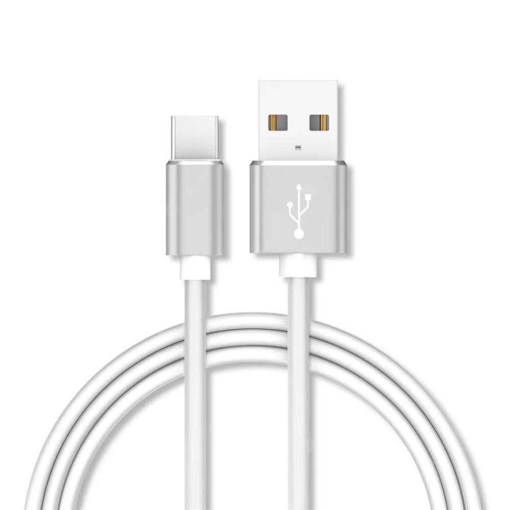 1M Data Sync Fast Charging USB Type-C Cable Type-C Devices WHITE