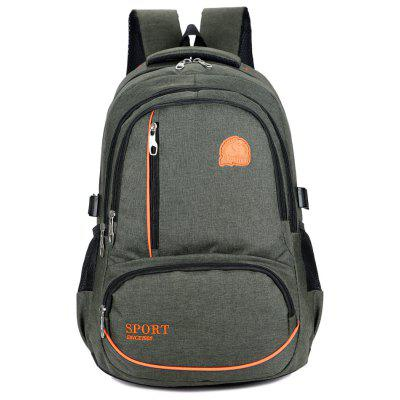 OutdoorCasual Highcapacity Student Bag Computer Backpack College Wind Backpack