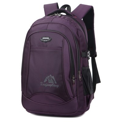 Simple Business Casual Laptop BackpackBackpacks<br>Simple Business Casual Laptop Backpack<br><br>Backpack Capacity: &gt;40L<br>Color: Black<br>Features: Water Resistance, Laptop Bag<br>For: Adventure, Hiking, Camping, Climbing, Traveling<br>Material: Nylon<br>Package Contents: 1 x bag<br>Package size (L x W x H): 33.00 x 2.00 x 25.00 cm / 12.99 x 0.79 x 9.84 inches<br>Package weight: 0.6500 kg<br>Product weight: 0.6300 kg<br>Type: Backpack