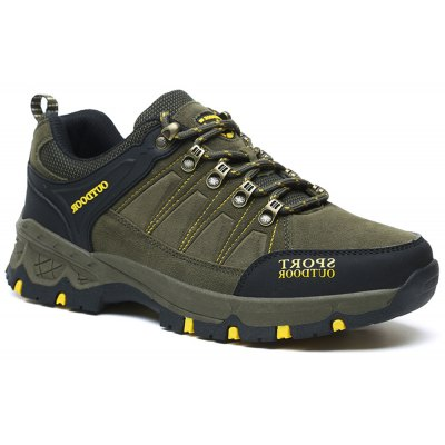 New Men's Fashion Outdoor Casual Shoes Mesh Breathable Sports Shoes Outdoor Hiking Shoes