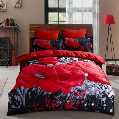 Selling Textile Bohemia Wind Three Sets of Bedding Explosion Sanding