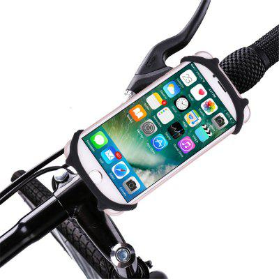 Bike Bicycle Motorcycle Handlebar Mount Holder Phone Holder With Silicone Support Band for iphone Samsung GPS Universal
