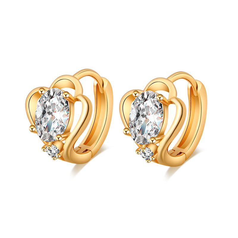Pendientes Zircon simple y de moda ER0045