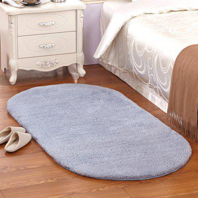 Buy BLUE VIOLET 40X60CM Kitchen Floor Mat Oval Antiskidding Water Absorption Doormat for $8.83 in GearBest store