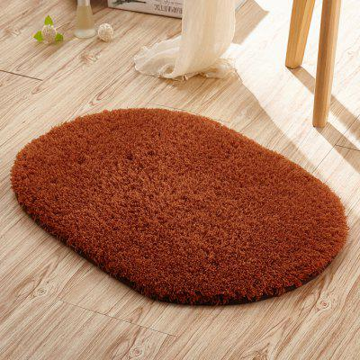 Doormat Solid Comfortable Water Absorption Oval Bathroom MatCarpets &amp; Rugs<br>Doormat Solid Comfortable Water Absorption Oval Bathroom Mat<br><br>Category: Mat,Carpet<br>For: All<br>Material: Others, Plush, Polyester fibre<br>Occasion: Office, Dining Room, Bedroom, Bathroom, Kitchen Room, Living Room<br>Package Contents: 1 x carpet<br>Package size (L x W x H): 10.00 x 15.00 x 5.00 cm / 3.94 x 5.91 x 1.97 inches<br>Package weight: 0.1500 kg