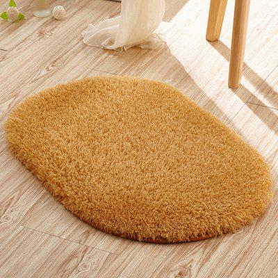 Doormat Solid Comfortable Water  Absorption Oval Bathroom MatCarpets &amp; Rugs<br>Doormat Solid Comfortable Water  Absorption Oval Bathroom Mat<br><br>Category: Mat,Carpet<br>For: All<br>Material: Others, Plush, Polyester fibre<br>Occasion: Office, Dining Room, Bedroom, Bathroom, Kitchen Room, Living Room<br>Package Contents: 1 x carpet<br>Package size (L x W x H): 20.00 x 25.00 x 5.00 cm / 7.87 x 9.84 x 1.97 inches<br>Package weight: 0.2500 kg