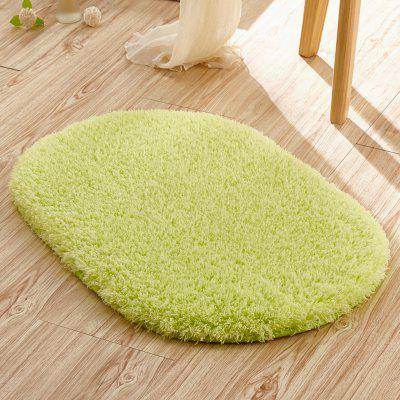 Doormat Solid Comfortable  Water Absorption Oval Bathroom MatCarpets &amp; Rugs<br>Doormat Solid Comfortable  Water Absorption Oval Bathroom Mat<br><br>Category: Mat,Carpet<br>For: All<br>Material: Others, Plush, Polyester fibre<br>Occasion: Office, Dining Room, Bedroom, Bathroom, Kitchen Room, Living Room<br>Package Contents: 1 x carpet<br>Package size (L x W x H): 40.00 x 45.00 x 12.00 cm / 15.75 x 17.72 x 4.72 inches<br>Package weight: 1.6000 kg