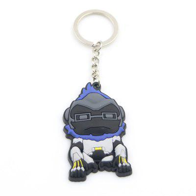 Hot Game Cartoon Hero Silicone Key chain for Reaper Pharah Soldier Widowmaker Tracer WinstonKey Chains<br>Hot Game Cartoon Hero Silicone Key chain for Reaper Pharah Soldier Widowmaker Tracer Winston<br><br>Design Style: Other<br>Gender: Unisex<br>Materials: Silicone<br>Package Contents: 1 x Key Chain<br>Package size: 7.00 x 5.00 x 1.00 cm / 2.76 x 1.97 x 0.39 inches<br>Package weight: 0.0180 kg<br>Product size: 6.00 x 4.00 x 0.80 cm / 2.36 x 1.57 x 0.31 inches<br>Product weight: 0.0130 kg<br>Theme: Other