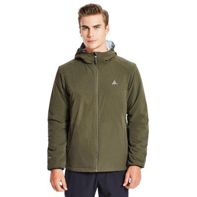 HUMTTO Men's Hiking Jacket Reversible Sportswear Outdoor Winter Camping Jackets