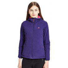 HUMTTO Women's Hiking Jacket Softshell Sportswear Outdoor Winter Camping Jackets Coat