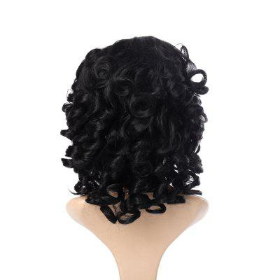 Short Curly Hair Sexy Wavy Wigs with Bangs short