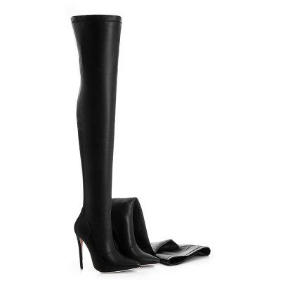 Women'S Shoes Fashion Boots Boots Stiletto Heel Pointed Toe Over The Knee Boots