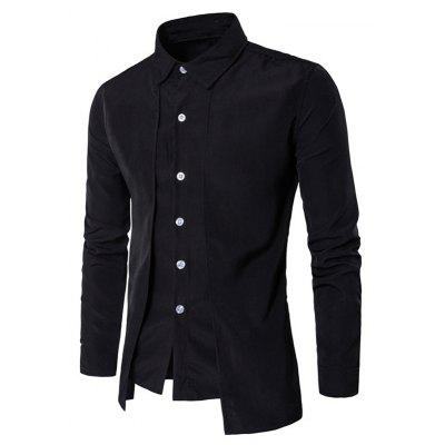 Men's Daily Simple Spring Fall Shirt Personalized Shirt Casual Shirts