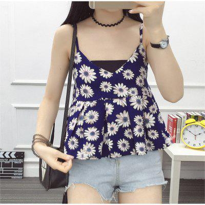 2018 Spring and Summer Women'S New Small tank tops