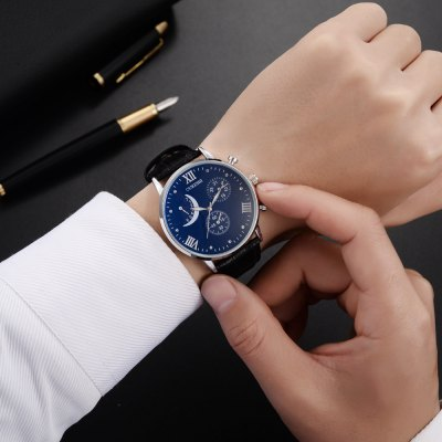 OUKESHI Casual Style Fashion Men Quartz  WatchMens Watches<br>OUKESHI Casual Style Fashion Men Quartz  Watch<br><br>Band material: PU<br>Band size: 24.5 x 2.2cm<br>Case material: Stainless Steel<br>Clasp type: Buckle<br>Dial size: 4.2 x 4.2 x 1cm<br>Movement type: Quartz watch<br>Package Contents: 1 x Watch<br>Package size (L x W x H): 26.00 x 6.00 x 1.50 cm / 10.24 x 2.36 x 0.59 inches<br>Package weight: 0.0500 kg<br>Product size (L x W x H): 24.50 x 4.20 x 1.00 cm / 9.65 x 1.65 x 0.39 inches<br>Product weight: 0.0450 kg<br>Shape of the dial: Round<br>Watch style: Fashion, Casual, Business, Retro, Cool<br>Watches categories: Men