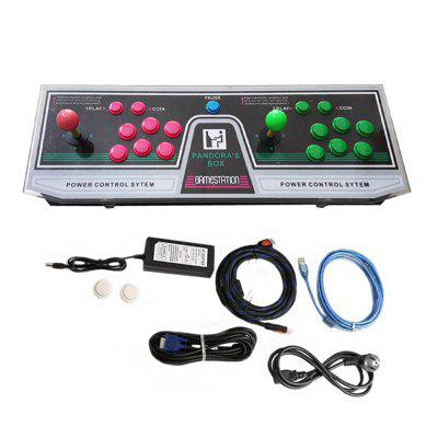 999 Video Games Arcade Console Machine Double Joystick Pandora's Box 5s VGA HDMI